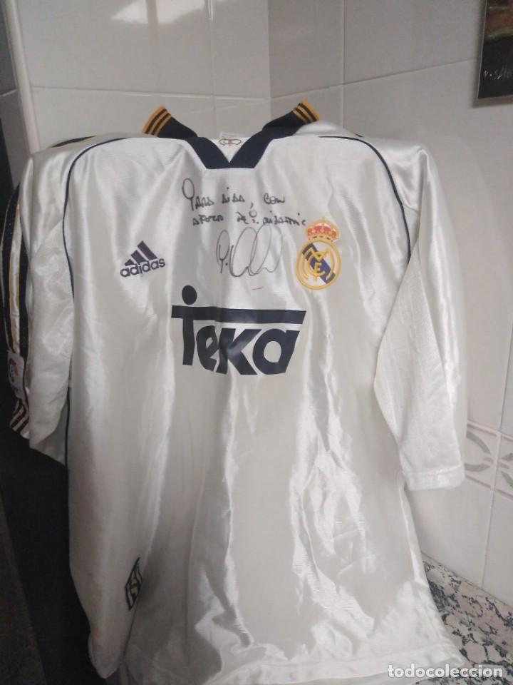 Coleccionismo deportivo: Camiseta firmada Mijatovic - Foto 4 - 152545414