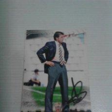 Coleccionismo deportivo: CROMO AUTOGRAFIADO GONZALO ARCONADA U.D. ALMERÍA.. Lote 155636462