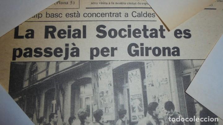 Coleccionismo deportivo: AUTOGRAFOS ORIGINALES REAL SOCIEDAD DE SAN SEBASTIAN 1980 , ALBERTO ORMAECHEA , LUIS ARCONADA , PEDR - Foto 4 - 155977510