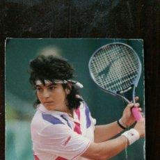 Coleccionismo deportivo: TENIS, PASTA LA FAMILIA - CAMPEONA DE ROLAND GARROS AÑO 1989 - ARANTXA SANCHEZ VICARIO. Lote 159269310