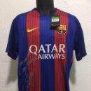 Coleccionismo deportivo: CAMISETA DEL FC BARCELONA CON AUTOGRAFO DE NEYMAR. CON DORSAL. NUEVA CON ETIQUETAS. 2016. Lote 159483202