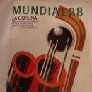 Coleccionismo deportivo: PROGRAMA CAMPEONATO HOCKEY MUNDIAL 88 DECENAS DE AUTÓGRAFOS SELECCIONES ARGENTINA ESPAÑOLA BRASIL ... Lote 159912538