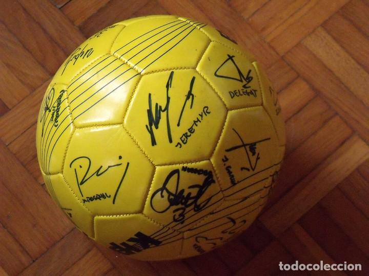Coleccionismo deportivo: Balón F. C. Barcelona, sección balonmano 2010-11. 20 autógrafos, firmas plantilla. Kipsta. - Foto 6 - 160410214