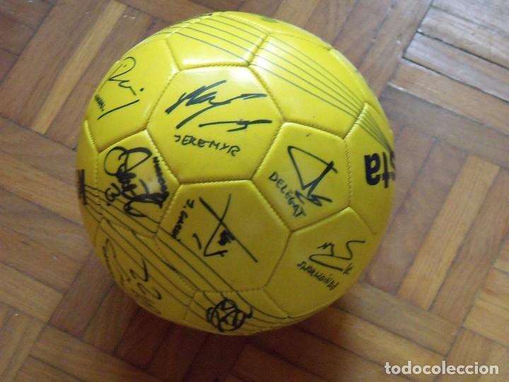 Coleccionismo deportivo: Balón F. C. Barcelona, sección balonmano 2010-11. 20 autógrafos, firmas plantilla. Kipsta. - Foto 7 - 160410214