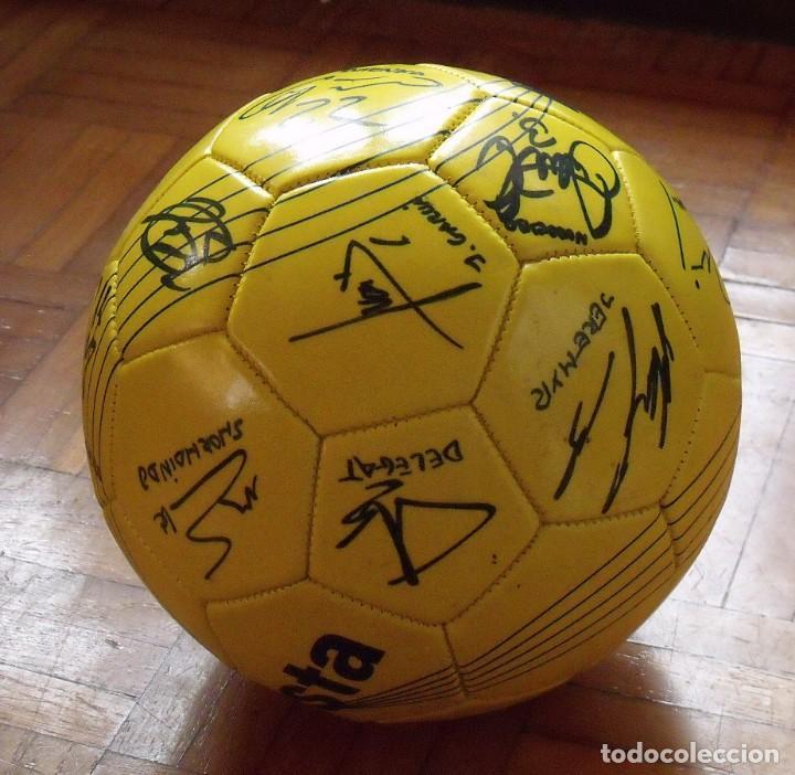 Coleccionismo deportivo: Balón F. C. Barcelona, sección balonmano 2010-11. 20 autógrafos, firmas plantilla. Kipsta. - Foto 9 - 160410214
