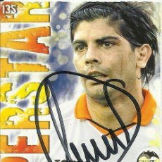 Coleccionismo deportivo: AUTÓGRAFO, FIRMA EN CROMO DE EVER BANEGA. QUIZ GAME COLLECTION. 2014. LFP. VALENCIA C.F. SUPERSTAR.. Lote 166313322