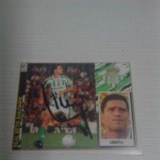 Coleccionismo deportivo: CROMO AUTOGRAFIADO UREÑA REAL BETIS.. Lote 173807112