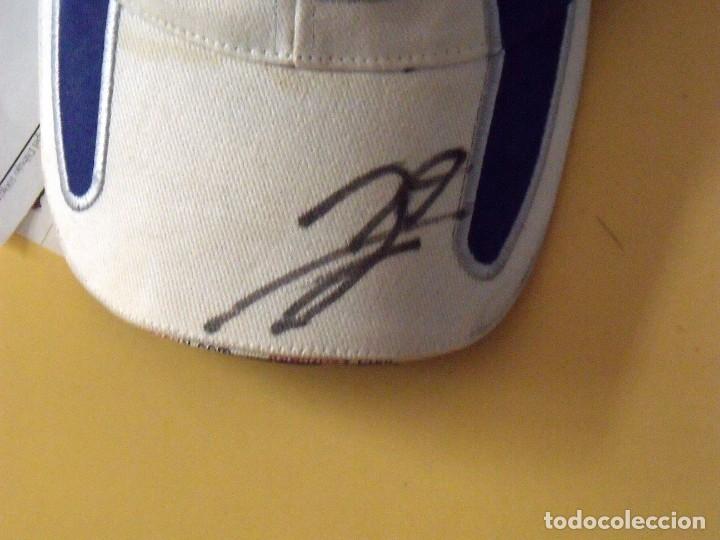 Coleccionismo deportivo: Jorge Lorenzo. Gorra firmada con autógrafo original. Speed Genius. 99. Buen estado. Motociclismo. - Foto 2 - 174182783