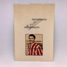 Coleccionismo deportivo: AUTÓGRAFO ORIGINAL DEL JUGADOR DEL ATLÉTICO AVIACIÓN - TALTAVULL - FUTBOL. Lote 177131975