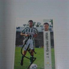 Coleccionismo deportivo: CROMO AUTOGRAFIADO UREÑA REAL BETIS.. Lote 178577462