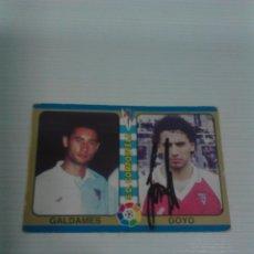 Coleccionismo deportivo: CROMO AUTOGRAFIADO GOYO S.D. COMPOSTELA.. Lote 178577680