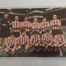 Coleccionismo deportivo: ATHLETIC BILBAO 1972-73 PLANTILLA CON AUTOGRAFOS. Lote 179133572