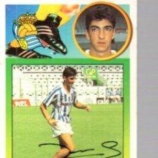 Coleccionismo deportivo: CROMO FIRMADO - AUTOGRAFO FUTBOL - IMANOL - REAL SOCIEDAD. Lote 183302850
