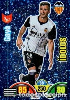 CROMO FIRMADO - AUTOGRAFO FUTBOL - GAYA - VALENCIA (Coleccionismo Deportivo - Documentos de Deportes - Autógrafos)