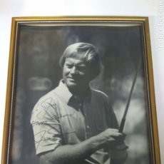Coleccionismo deportivo: GOLF FOTOGRAFIA JACK NICKLAUS AUTOGRAFO ORIGINAL VER FOTOS. Lote 184183131