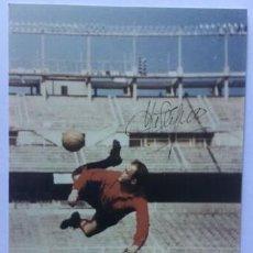 Coleccionismo deportivo: ALFREDO DI STEFANO AUTOGRAFO ORIGINAL FOTO 15 X 10. Lote 184258493