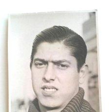 Coleccionismo deportivo: TRIAS PORTERO INTERNACIONAL RCD ESPAÑOL FOTOGRAFIA FIRMADA AÑO 1944. MED. 9 X 14 CM. Lote 189984318