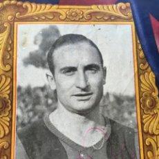 Coleccionismo deportivo: ESCOLÁ - FIRMA AUTÓGRAFA - CLUB FUTBOL BARCELONA - OPORTO DE PORTUGAL 12 JUNIO 1949 - . Lote 190018935