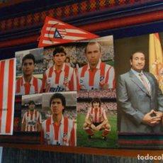 Coleccionismo deportivo: AUTÉNTICO AUTÓGRAFO JESÚS GIL PRESIDENTE ATLÉTICO DE MADRID CON 6 FOTOS ORIGINALES DE REGALO Y MÁS.. Lote 191146948
