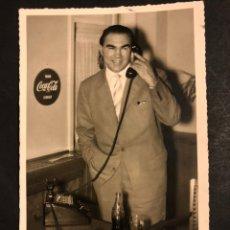Coleccionismo deportivo: FOTO CON AUTÓGRAFO DEL BOXEADOR MAX SCHMELING CAMPEÓN DEL MUNDO DE PESOS PESADOS 14 X 9 CM. Lote 194977963