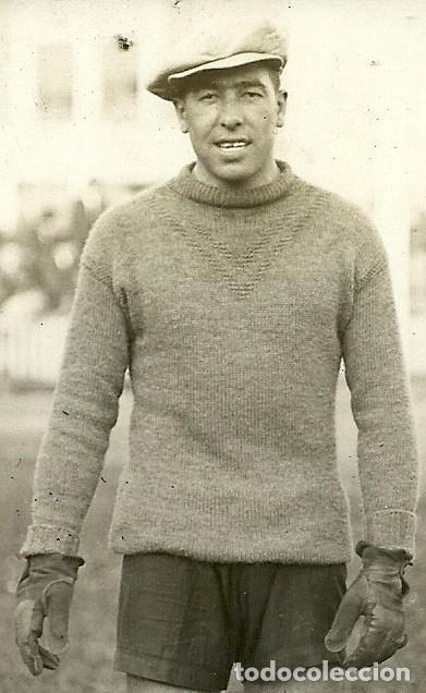 Coleccionismo deportivo: (F-200378)FOTOGRAFIA DEDICADA DE CRISTOFOR SOLA COLL PORTERO F.C.BARCELONA FOOT-BALL 1930 - Foto 2 - 196365882