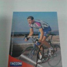 Coleccionismo deportivo: POSTAL AUTOGRAFIADA GIANLUCA SIRONI - TACCONI.. Lote 198416776