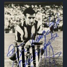 Coleccionismo deportivo: CALLEJA ATLÉTICO MADRID VALENCIA FINAL COPA 1972 AUTOGRAFO. Lote 202975528