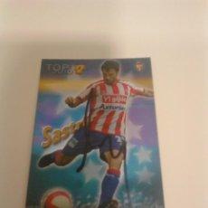 Coleccionismo deportivo: CROMO AUTOGRAFIADO SASTRE - SPORTING DE GIJÓN.. Lote 204663665