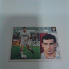 Coleccionismo deportivo: CROMO AUTOGRAFIADO ALFONSO - SEVILLA F.C.. Lote 204665203