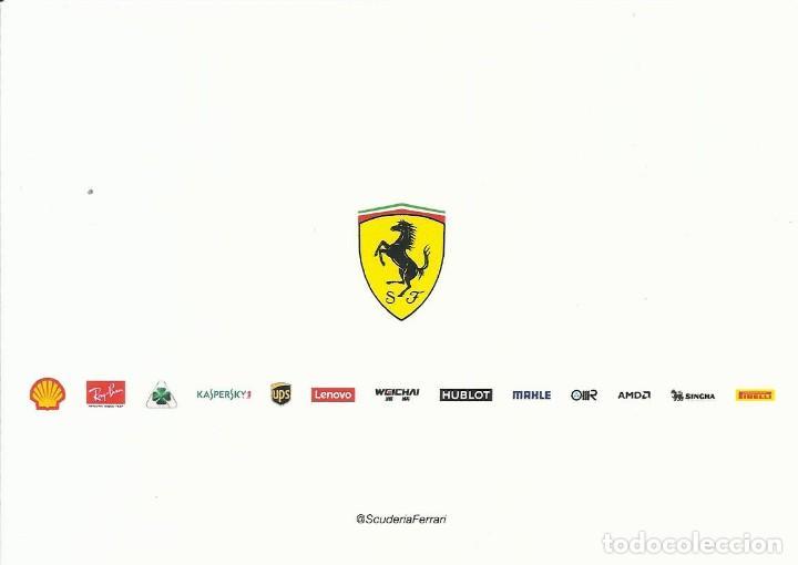 Coleccionismo deportivo: Sebastian Vettel. Autógrafo. Firma original. Autograph. Automovilismo. Fórmula 1. Ferrari. - Foto 2 - 205038873