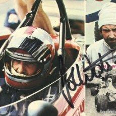 Coleccionismo deportivo: JOHN WATSON. AUTÓGRAFO. FIRMA ORIGINAL. AUTOGRAPH. AUTOMOVILISMO. FÓRMULA 1. 1977.. Lote 205162112
