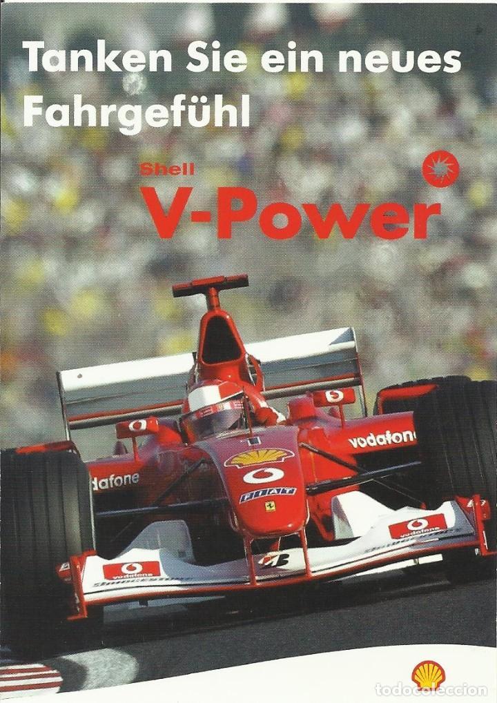 Coleccionismo deportivo: Michael Schumacher. Autógrafo. Firma original. Autograph. Automovilismo. Fórmula 1. Ferrari. Shell. - Foto 2 - 205165055