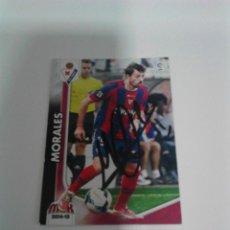 Coleccionismo deportivo: CROMO AUTOGRAFIADO MORALES - S.D. EIBAR.. Lote 205586930