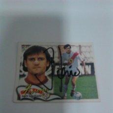 Coleccionismo deportivo: CROMO AUTOGRAFIADO FERREIRA - RAYO VALLECANO.. Lote 205587172