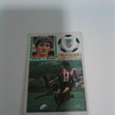 Coleccionismo deportivo: CROMO AUTOGRAFIADO PATXI SALINAS - ATHLETIC CLUB.. Lote 205587688