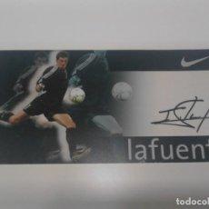 Coleccionismo deportivo: POSTAL AUTOGRAFIADA LAFUENTE - ATHLETIC CLUB.. Lote 205733900