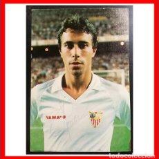 Coleccionismo deportivo: TARJETA FOTOGRAFICA AUTOGRAFIADA DE MOISES JUGADOR DEL SEVILLA FC. Lote 205849768