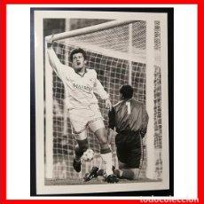 Coleccionismo deportivo: FOTOGRAFIA AUTOGRAFIADA POR DAVOR SUKER, SEVILLA FC. Lote 205849798