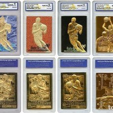 Coleccionismo deportivo: KOBE BRYANT - LOTE 6 CROMOS DE ORO ( 23 K ) - EDICION LIMITADA. Lote 206587798