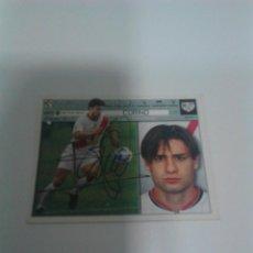 Coleccionismo deportivo: CROMO AUTOGRAFIADO CORINO RAYO VALLECANO.. Lote 206997411