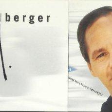 Coleccionismo deportivo: GERHARD BERGER. AUTÓGRAFO, FIRMA ORIGINAL. 1997. AUTOMOVILISMO. AUTOGRAPH. FÓRMULA 1. FERRARI. Lote 209952278