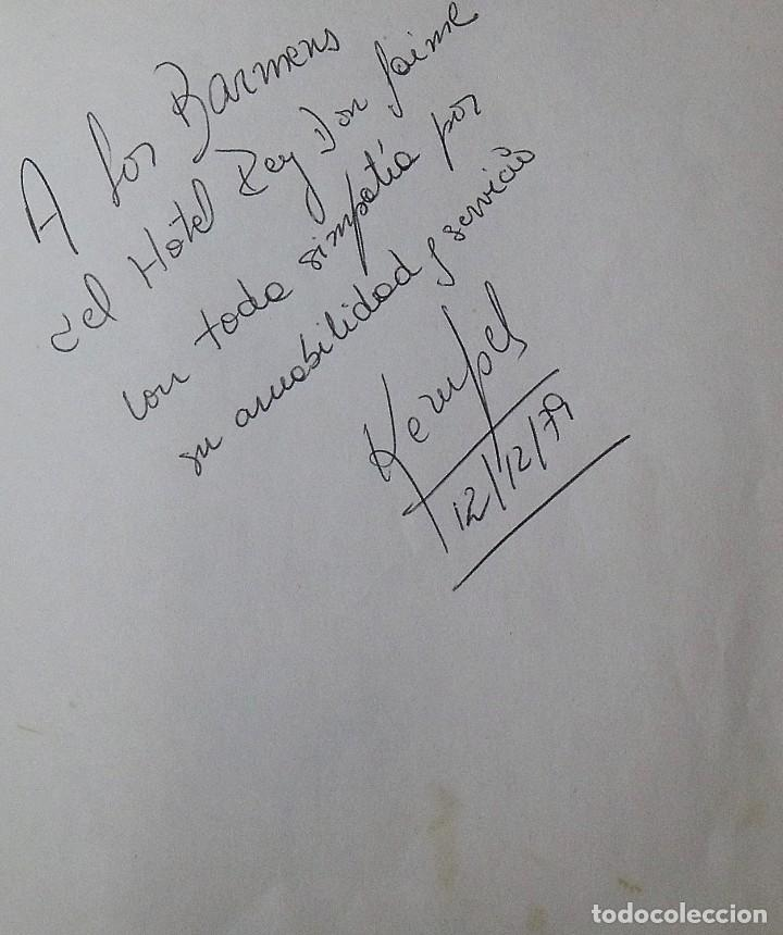 Coleccionismo deportivo: Mi diario. 40 autógrafos: Kubala, Kempes, Di Stefano, Ángel Nieto, Urtain, Pirri, Arconada, Bonhoff, - Foto 3 - 209998650