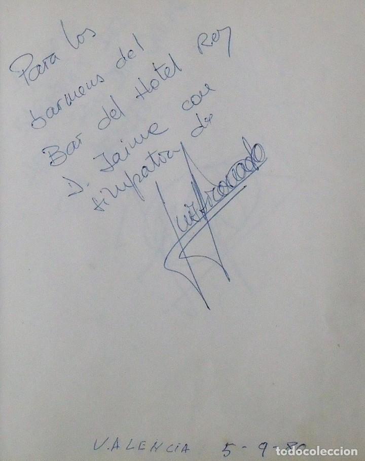 Coleccionismo deportivo: Mi diario. 40 autógrafos: Kubala, Kempes, Di Stefano, Ángel Nieto, Urtain, Pirri, Arconada, Bonhoff, - Foto 13 - 209998650