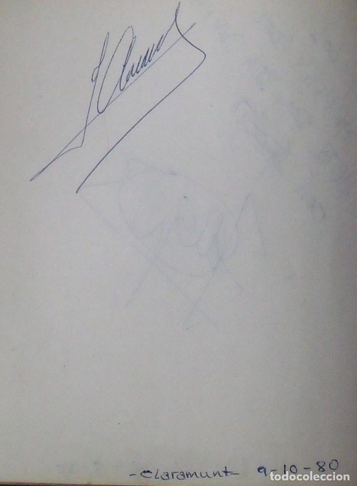 Coleccionismo deportivo: Mi diario. 40 autógrafos: Kubala, Kempes, Di Stefano, Ángel Nieto, Urtain, Pirri, Arconada, Bonhoff, - Foto 15 - 209998650