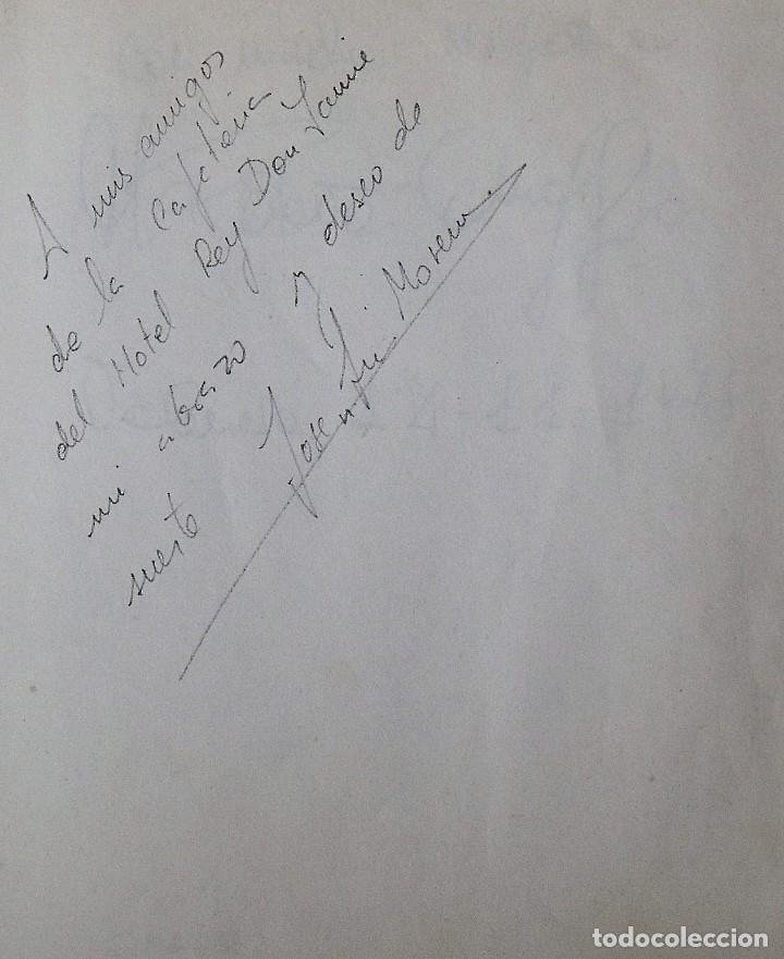 Coleccionismo deportivo: Mi diario. 40 autógrafos: Kubala, Kempes, Di Stefano, Ángel Nieto, Urtain, Pirri, Arconada, Bonhoff, - Foto 19 - 209998650