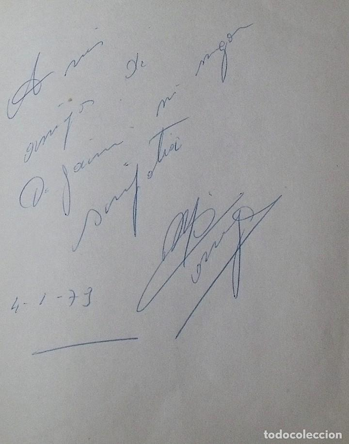 Coleccionismo deportivo: Mi diario. 40 autógrafos: Kubala, Kempes, Di Stefano, Ángel Nieto, Urtain, Pirri, Arconada, Bonhoff, - Foto 23 - 209998650