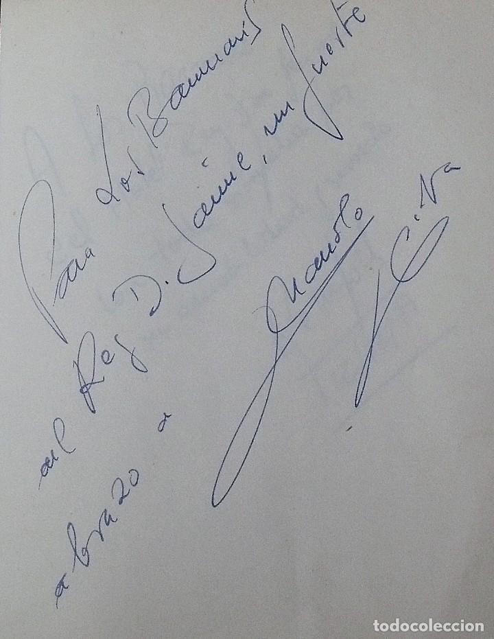 Coleccionismo deportivo: Mi diario. 40 autógrafos: Kubala, Kempes, Di Stefano, Ángel Nieto, Urtain, Pirri, Arconada, Bonhoff, - Foto 26 - 209998650