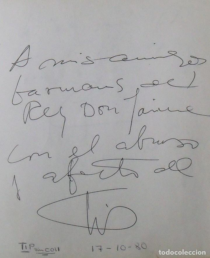 Coleccionismo deportivo: Mi diario. 40 autógrafos: Kubala, Kempes, Di Stefano, Ángel Nieto, Urtain, Pirri, Arconada, Bonhoff, - Foto 28 - 209998650