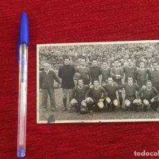 Coleccionismo deportivo: R9720 FOTO FOTOGRAFIA ORIGINAL ONCE ALINEACION BARCELONA CON TODOS LOS AUTOGRAFOS FIRMAS. Lote 210321948