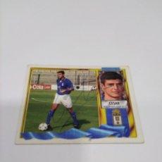 Coleccionismo deportivo: CROMO AUTOGRAFIADO CÉSAR REAL OVIEDO.. Lote 213769123
